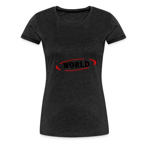 World Vibes - T-shirt Premium Femme
