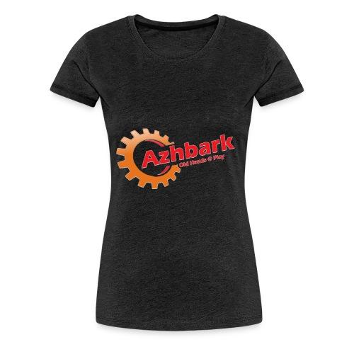 Azhbark Logo - Dame premium T-shirt