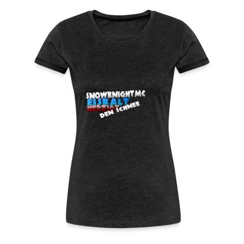 SnowKnightMC_Merch_Logo - Frauen Premium T-Shirt