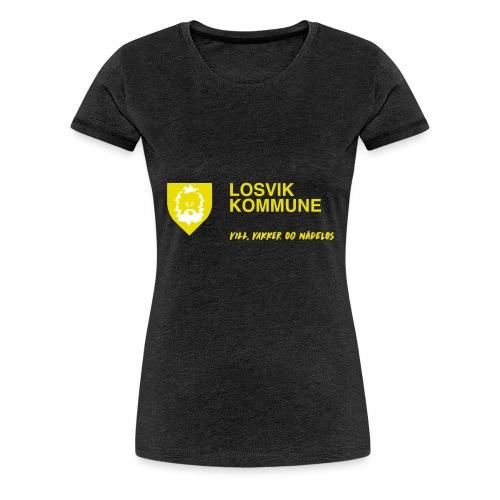 Losvik kommune - Premium T-skjorte for kvinner