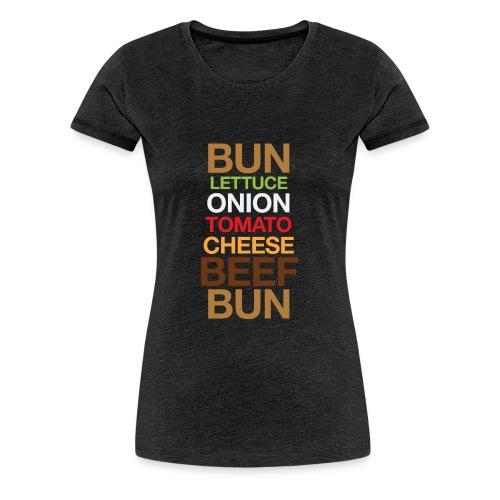 Cheese burger - Women's Premium T-Shirt
