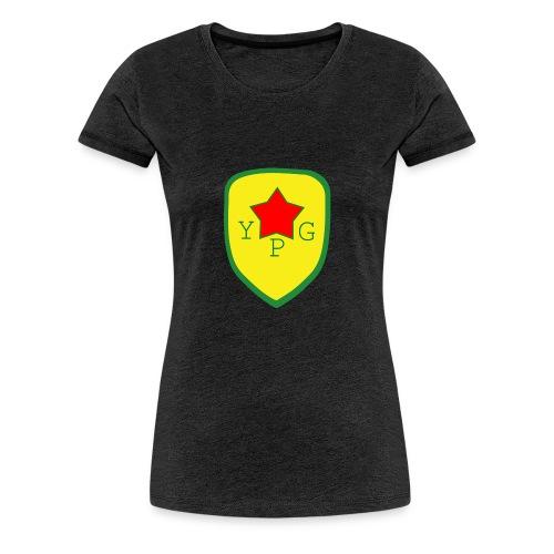 YPG Snapback Support hat - Naisten premium t-paita