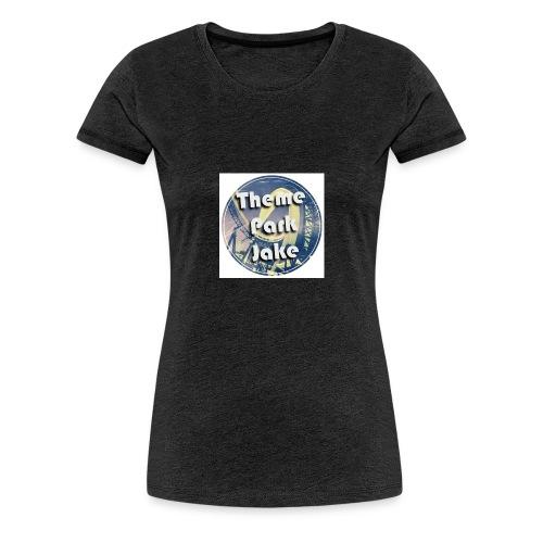 THEME PARK JAKE LOGO - Women's Premium T-Shirt