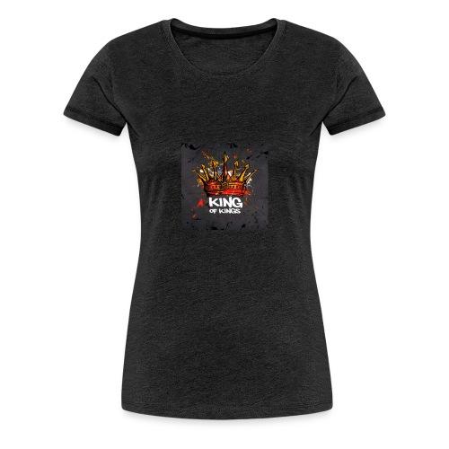 King of kings - Frauen Premium T-Shirt