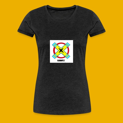 HAWKS - T-shirt Premium Femme