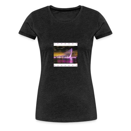 100 trui zwart - Vrouwen Premium T-shirt