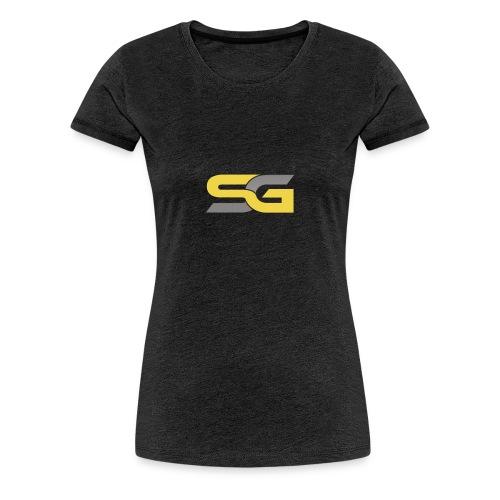 SibertGamer T-Shirt bleu - Vrouwen Premium T-shirt