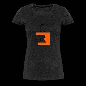 Woman Pittig - Vrouwen Premium T-shirt