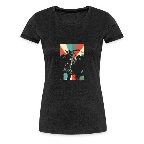 United for Bizzi - Frauen Premium T-Shirt