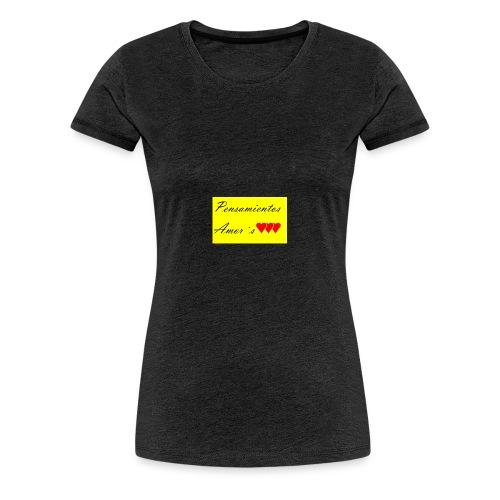 Pensamientos-png - Camiseta premium mujer