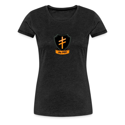 3te PGD Einheitslogo - Frauen Premium T-Shirt