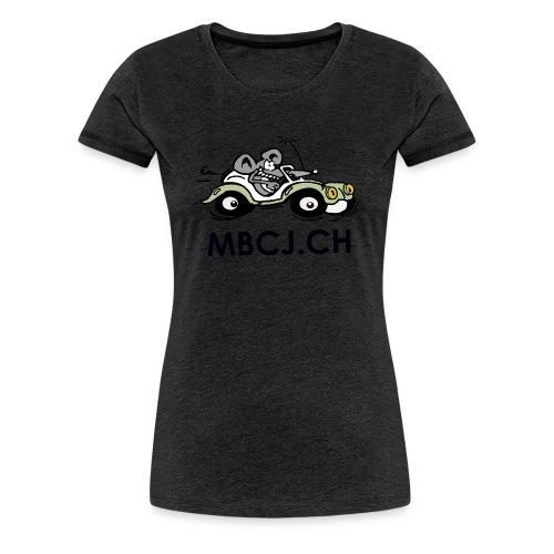 logo mbcj 50cm sans arc - T-shirt Premium Femme