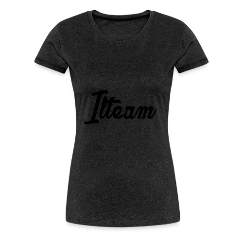 Ilteam Black and White - T-shirt Premium Femme