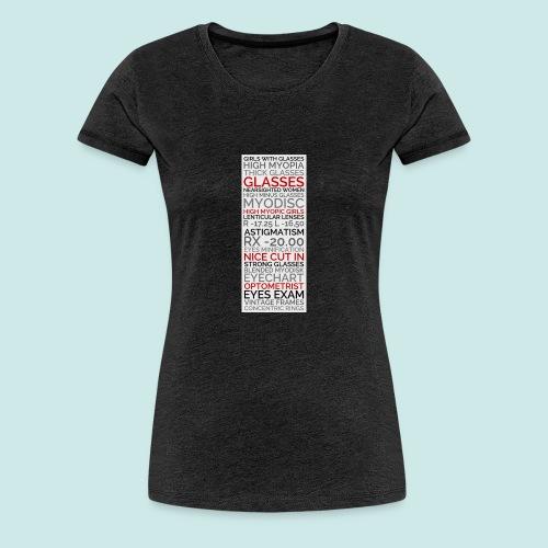 Myopia Poster 2 - T-shirt Premium Femme