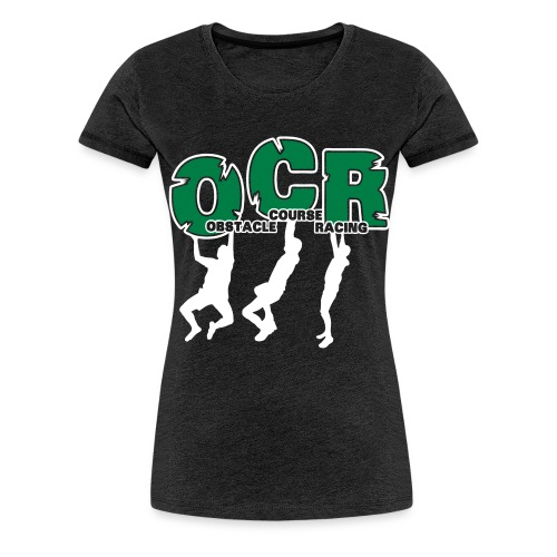 OCR - Obstacle Course Racing Monkey Bars - Frauen Premium T-Shirt
