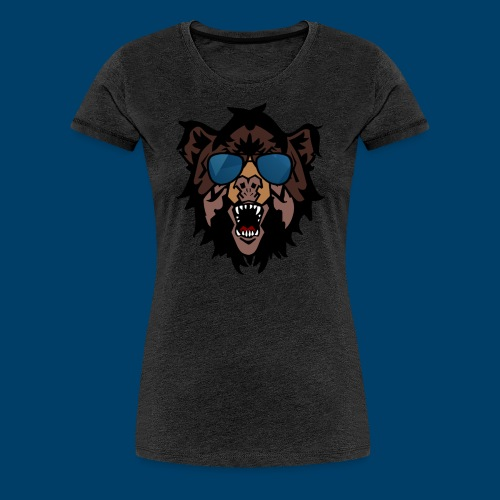 The Grizzly Beast - Women's Premium T-Shirt