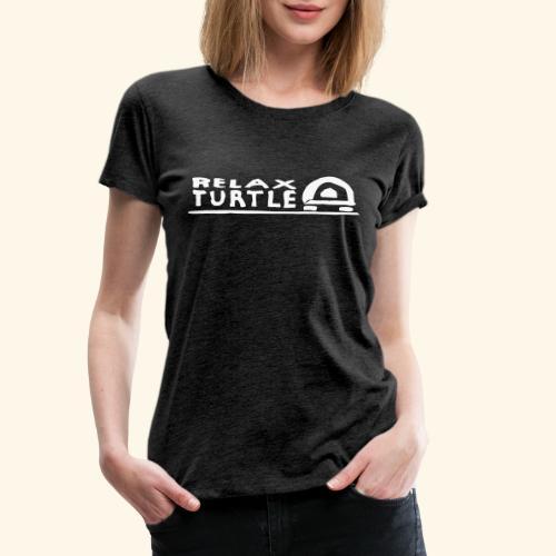 relax-turtle - Frauen Premium T-Shirt