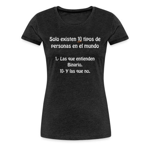 binario - Camiseta premium mujer