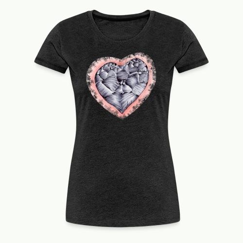 Coeur empli - T-shirt Premium Femme
