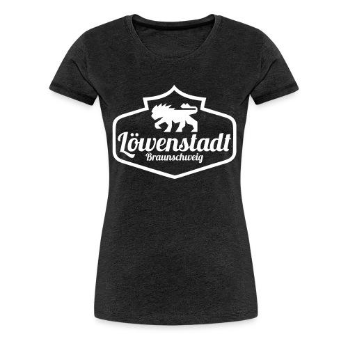 Löwenstadt Design 1 weiss - Frauen Premium T-Shirt
