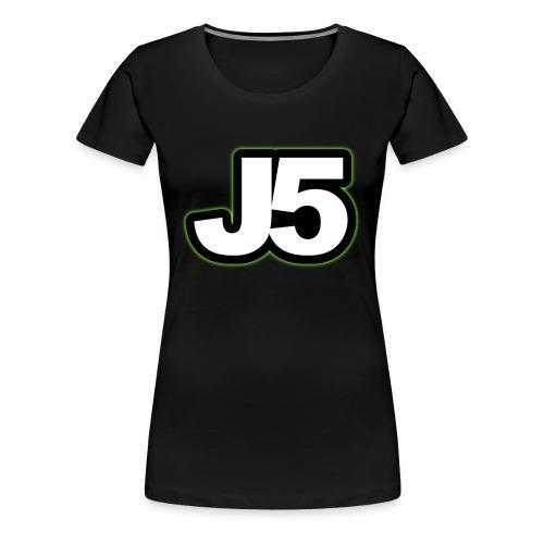 kasket - Dame premium T-shirt