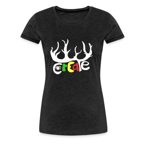 create white - Frauen Premium T-Shirt