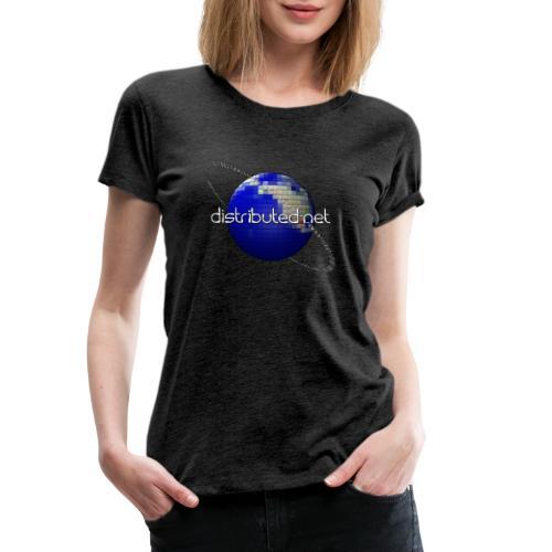 full logo border - Women's Premium T-Shirt