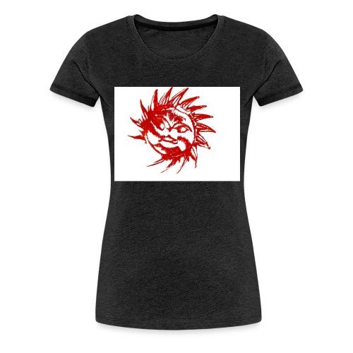 A RED SUN - Women's Premium T-Shirt