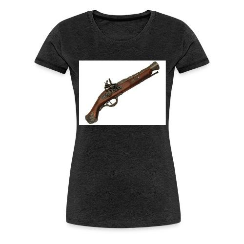 Pistola - Camiseta premium mujer