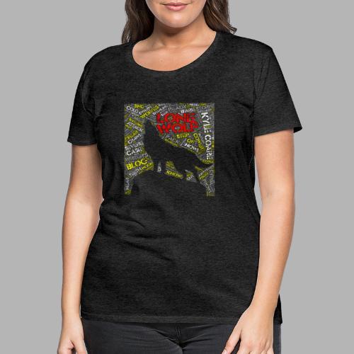Lone Wolf - Women's Premium T-Shirt