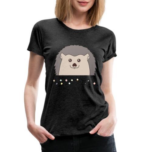 Hed wünscht Merry Christmas - Frauen Premium T-Shirt