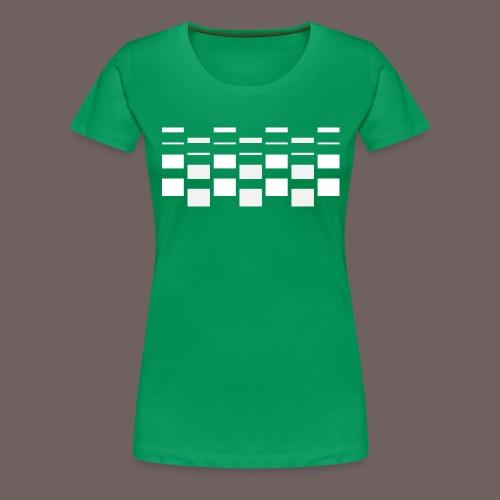 GBIGBO zjebeezjeboo - Love - Ups and Downs - T-shirt Premium Femme