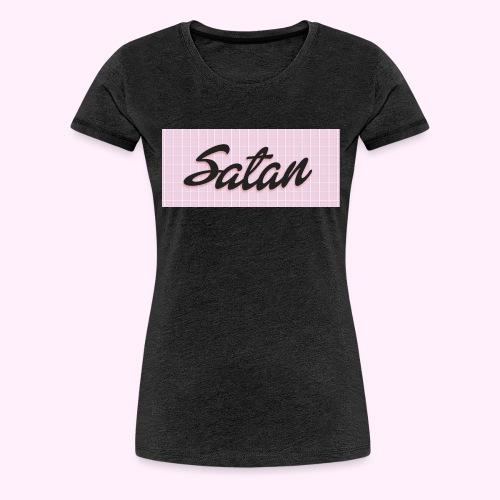 Satan cap - Naisten premium t-paita