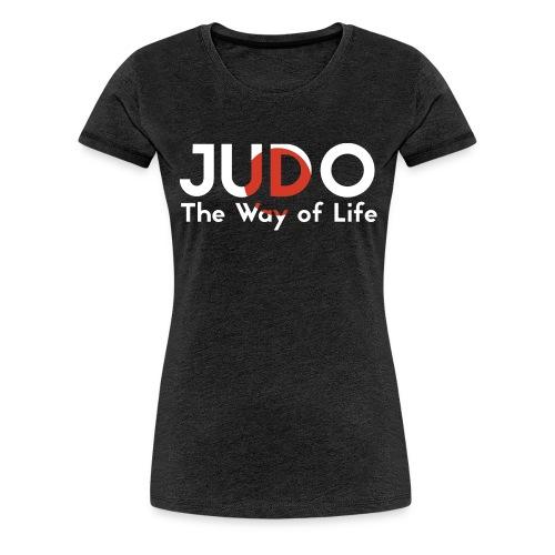 judo the way of life - Koszulka damska Premium