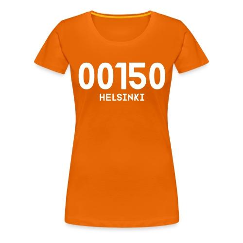 00150 HELSINKI - Naisten premium t-paita