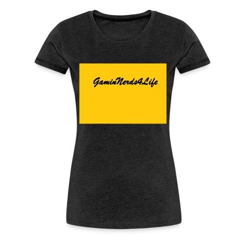 GamingNerds4Life - Premium T-skjorte for kvinner