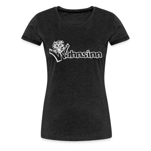 Wahnsinn Logo - Vrouwen Premium T-shirt