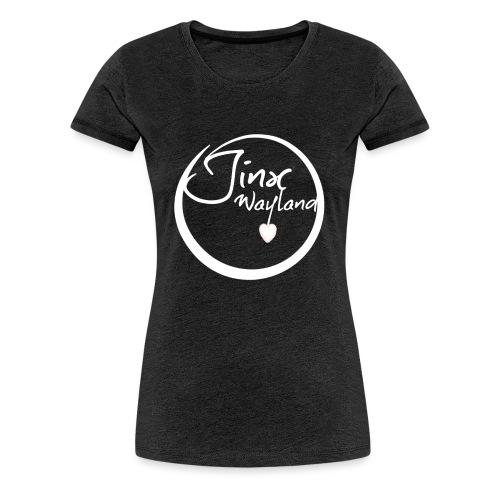 Jinx Wayland Circle White - Women's Premium T-Shirt
