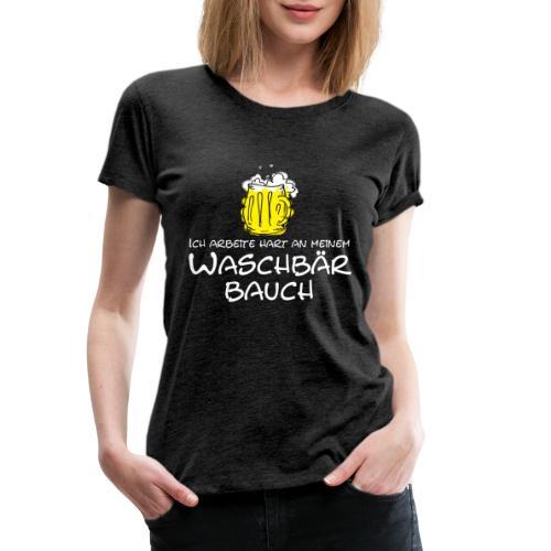 Waschbaerbauch, - Frauen Premium T-Shirt