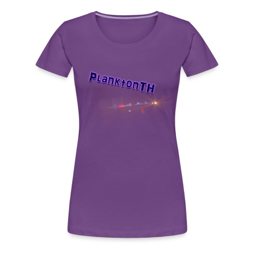 PlanktonTH, Lens Flare - Naisten premium t-paita