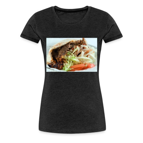 kebab trøje - Dame premium T-shirt