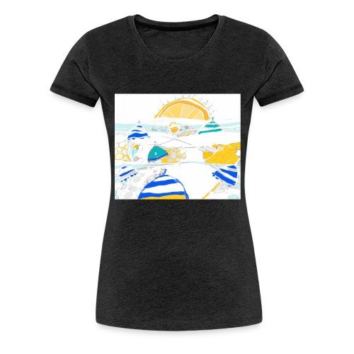 plage - T-shirt Premium Femme