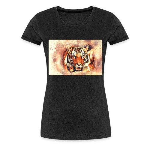 Tiger NO 1 - Frauen Premium T-Shirt