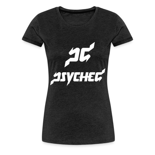 psyched-logo-finalwhite - Vrouwen Premium T-shirt