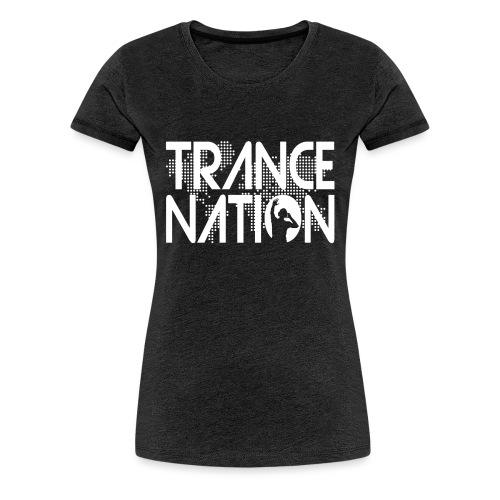 Trance Nation (White) - Premium-T-shirt dam