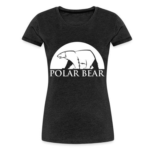 Polar Bear blanc - T-shirt Premium Femme