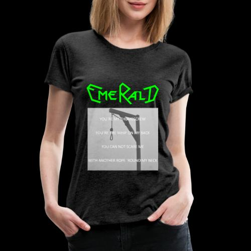 Emerald - Frauen Premium T-Shirt