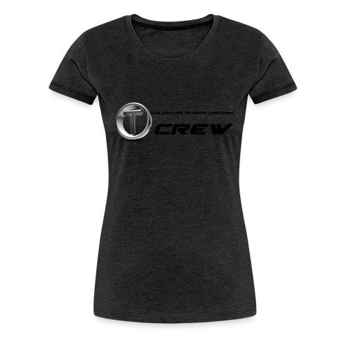 tru logo tekstil - Premium T-skjorte for kvinner