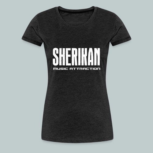Sherikan logo - Premium-T-shirt dam