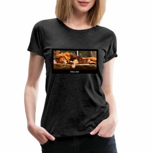 Today's mood - Frauen Premium T-Shirt